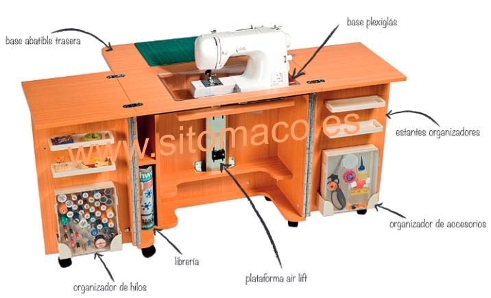 Muebles sitomaco for Mueble organizador de costura